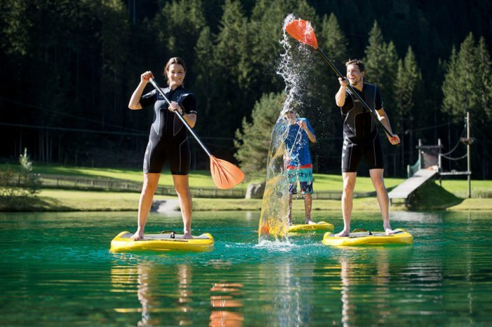 Actionsport im Sommerurlaub in Flachau