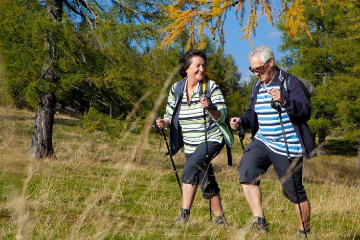 Nordic-Walking im Sommerurlaub in Flachau