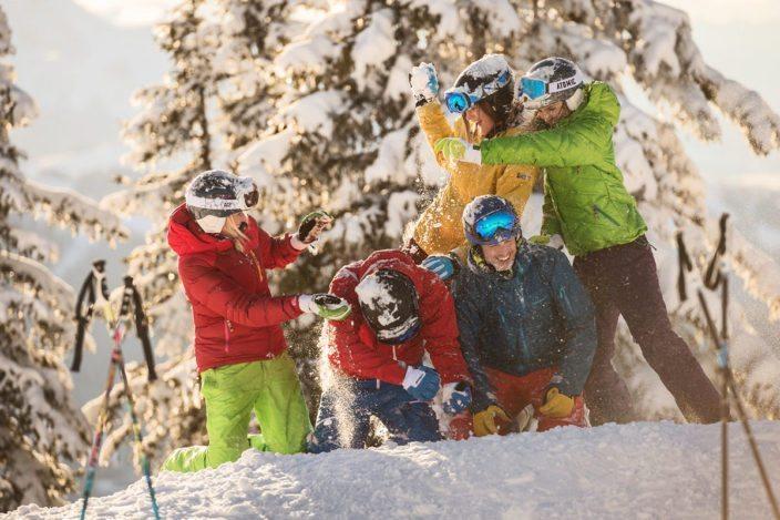 Schneeschuhwandern im Winterurlaub in Flachau - Ski amadé